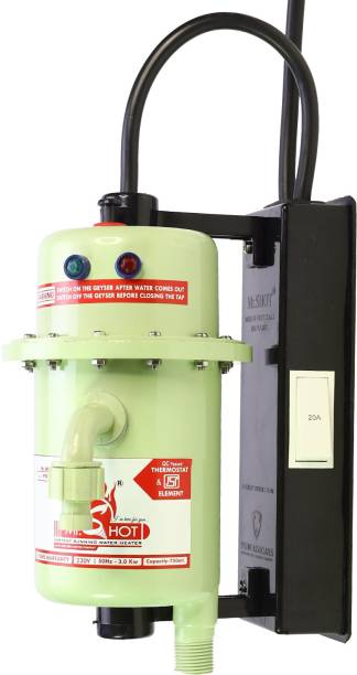 Mr.SHOT 1 L Instant Water Geyser (Prime, Green)