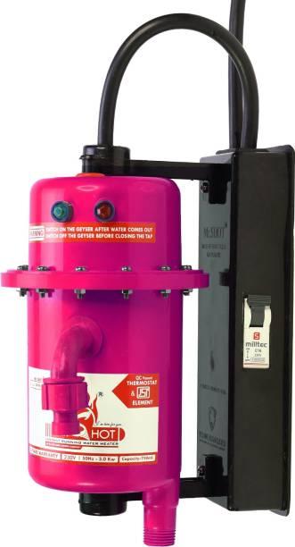 Mr.SHOT 1 L Instant Water Geyser (MAX-01-PMR, Dark Pink)