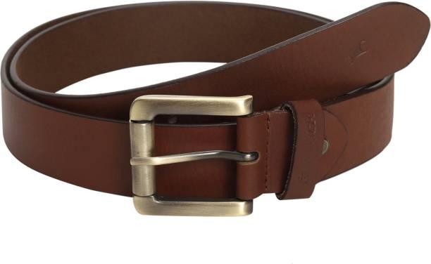 Fastrack Men Formal Tan Genuine Leather Belt