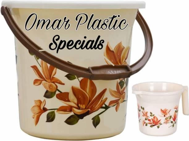 Omar plastic 18 L Plastic Bucket