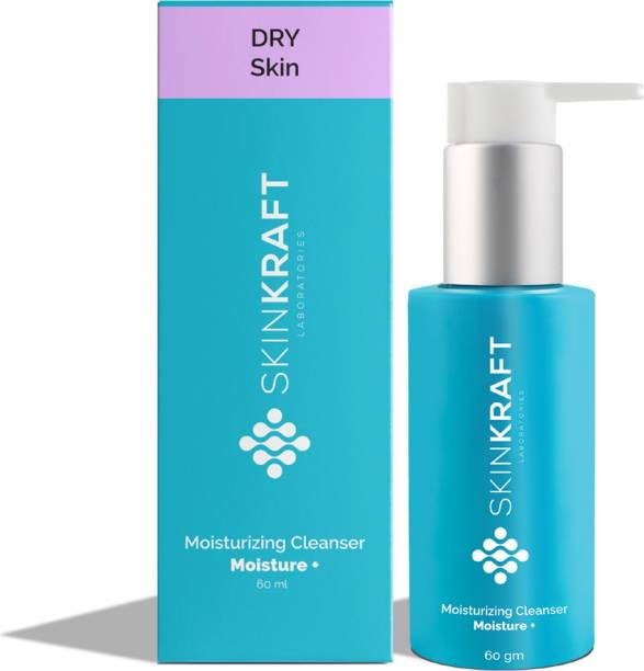 Skinkraft Moisturizing Cleanser - Face Wash For Dry Skin