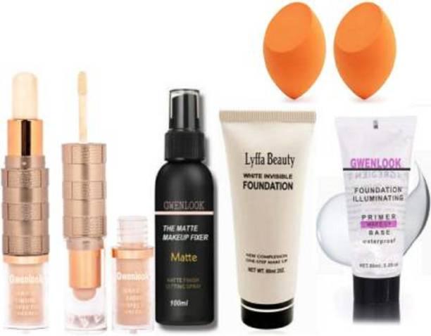 Everwey Combo Of 2 in1 concealer & Fixer Primer Foundation Makeup kit