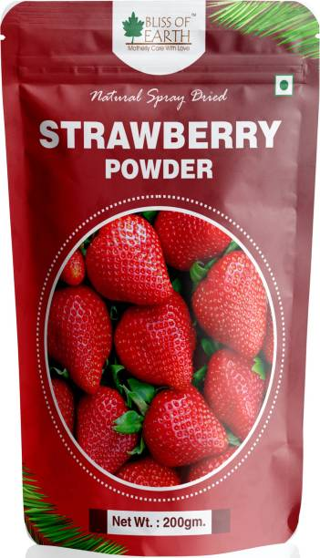 Bliss of Earth 200 gm Strawberry Powder Natural Spry Dried