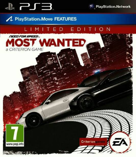Need For Speed: Most Wanted - Limited Edition PS3 (2012)