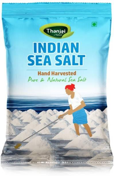 Thanjai iyerkai Thanjai Natural's Indian Non Iodised Sea Salt 4KG Traditionally Made 100% Natural Sea Salt