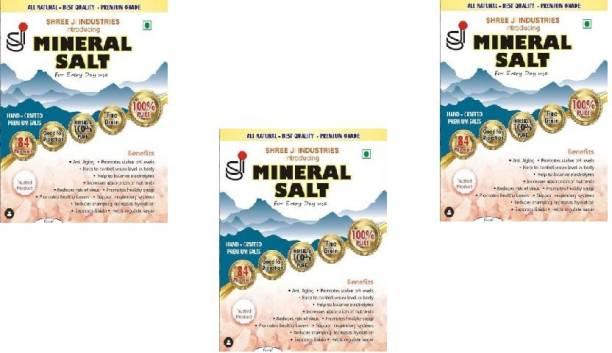 Shreeji Mineral Himalayan Pink Salt for Daily Use, 250g (pack of 3) Himalayan Pink Salt