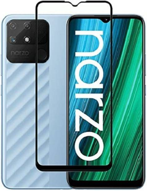 CHVTS Edge To Edge Tempered Glass for realme Narzo 50A