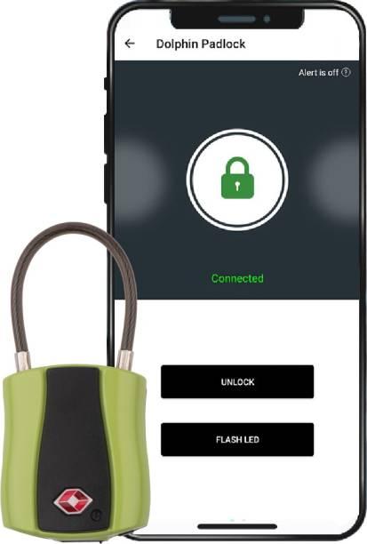 Tag8 Dolphin Smart Padlock -Green-800024 Smart Door Lock