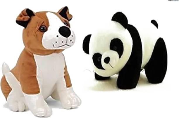 Unique BullDog With Panda  - 26 cm