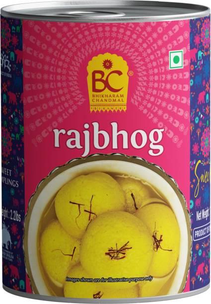 BHIKHARAM CHANDMAL Rajbhog Tin 1kg - Pack of 1 Tin