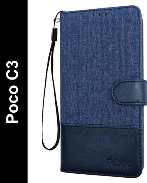 Febelo Flip Cover for Poco C3