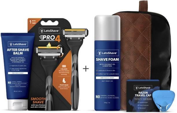 LetsShave Pro 4 Grooming Kit