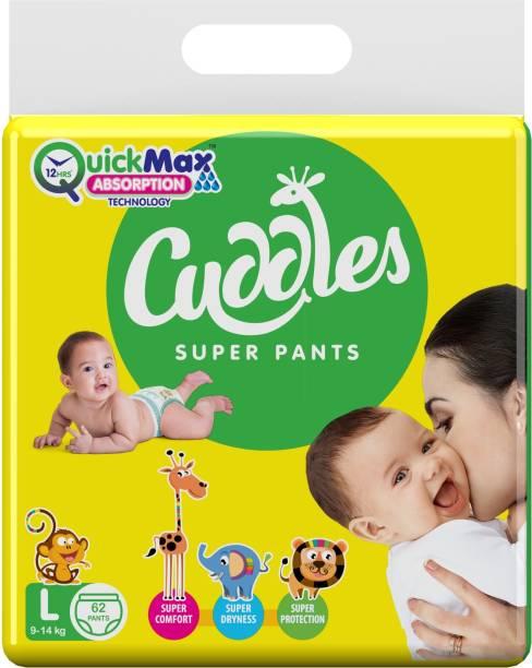 Cuddles - Super Pants Pant Style Diaper - L
