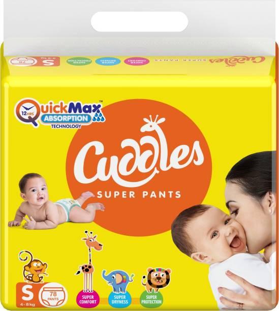 Cuddles - Super Pants Pant Style Diaper - S