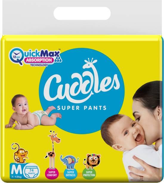 Cuddles - Super Pants Pant Style Diaper - M