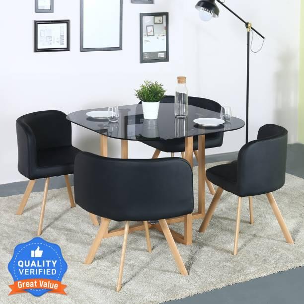 Flipkart Perfect Homes Atiu Metal 4 Seater Dining Set