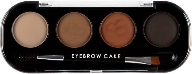 GREVILLAE Eye Brow Cake 4 Color Palette (Original) 4 g
