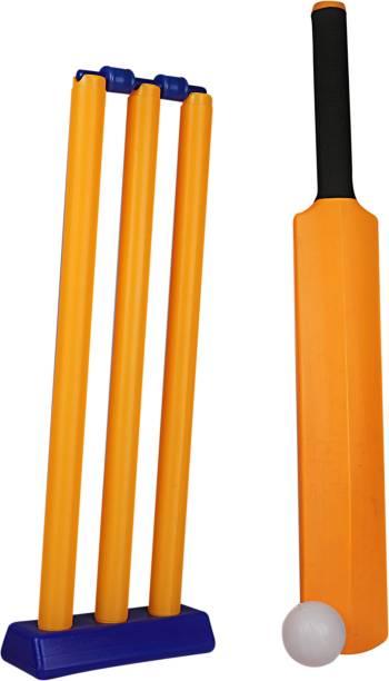 G.N.R Junior Plastic Cricket Kit For Kids 28cm Cricket Kit