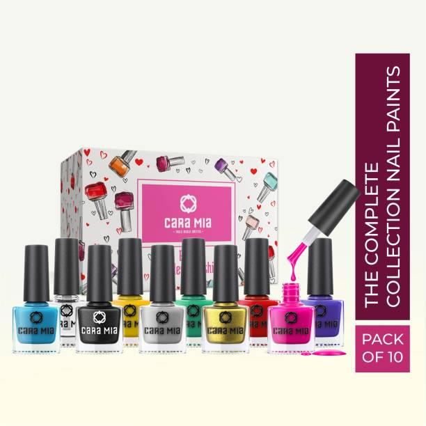 CARA MIA Ooh La La Nails Enamel Multicolor