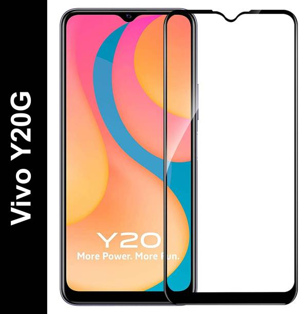 Vatsin Front and Back Tempered Glass for Vivo Y20G