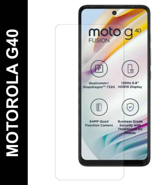 CHVTS Tempered Glass Guard for MOTOROLA G40 Fusion