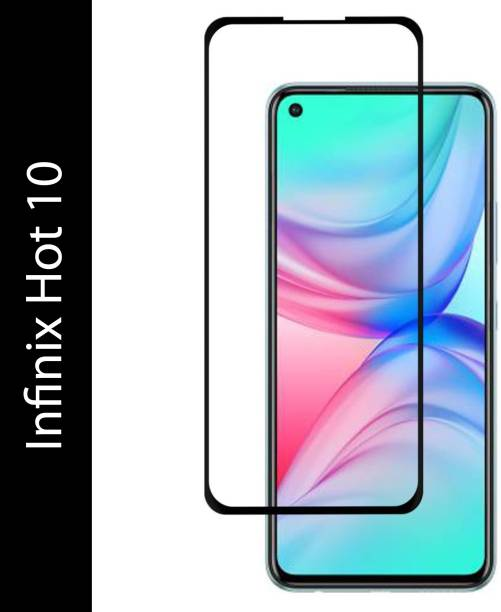 CHVTS Tempered Glass Guard for Infinix Hot 10