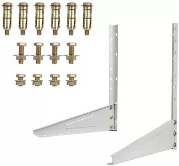 0 dirty TAFTA Heavy Duty AC Stand/Heavy Duty Air Conditioner Outdoor Unit Mounting Bracket 0.8 Ton to 2.0 Ton Shelf Bracket