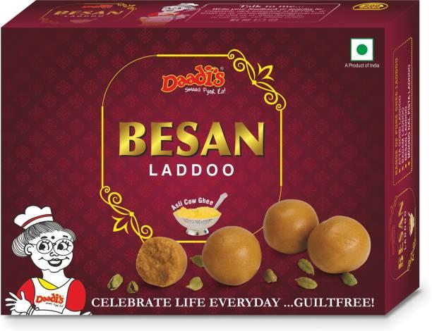 Daadi's Besan Laddoo Pure Ghee Box