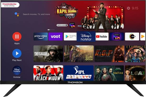 Thomson 9R PRO 108 cm (43 inch) Ultra HD (4K) LED Smart Android TV