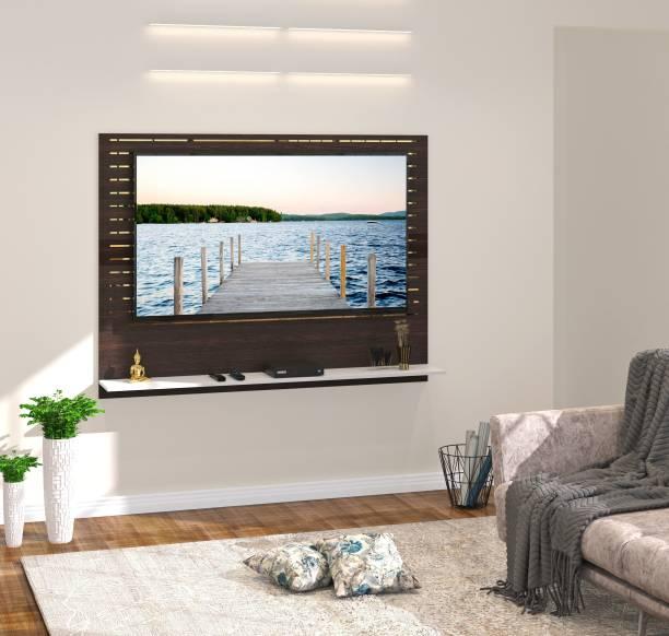 BLUEWUD Reyloye Engineered Wood TV Entertainment Unit