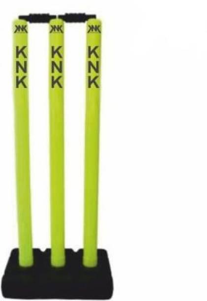 KNK Plastic Cricket Stumps Full Size