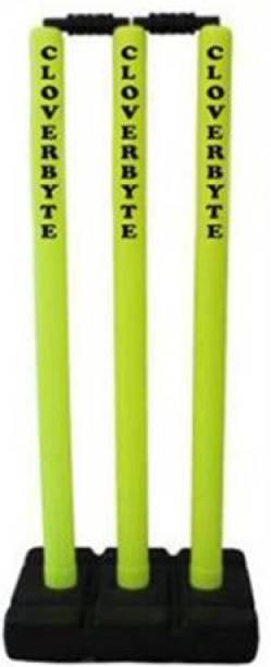 CLOVERBYTE Plastic Cricket Stumps Full Size