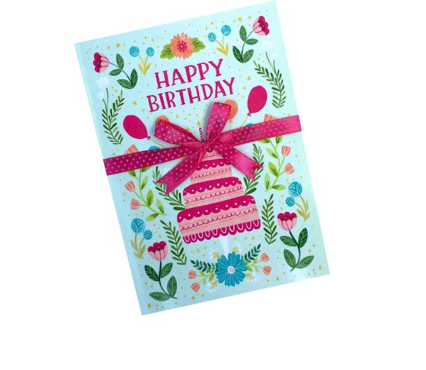 Gaurangi Happy Birthday Greeting Card With Beautiful Quote - Birthday Card For Friend / Son / Daughter Greeting Card