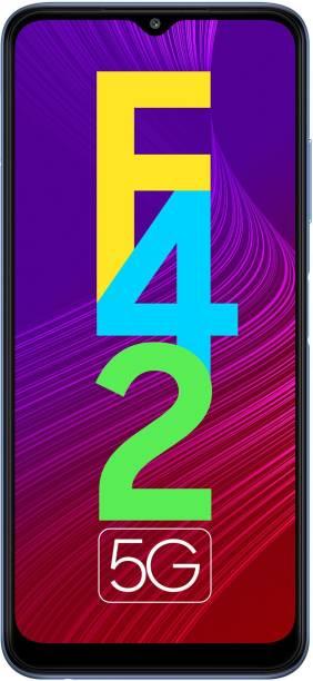 SAMSUNG Galaxy F42 5G (Matte Aqua, 128 GB)