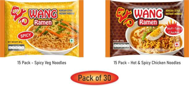 Wang Ramen AW221020 Instant Noodles Non-vegetarian