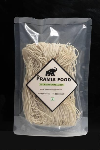 Pramix Ready To Cook Instant Hakka Noodles | Vegetarian wheat Plain Noodles, Chowmein Gluten Free, 1kg Instant Noodles Vegetarian