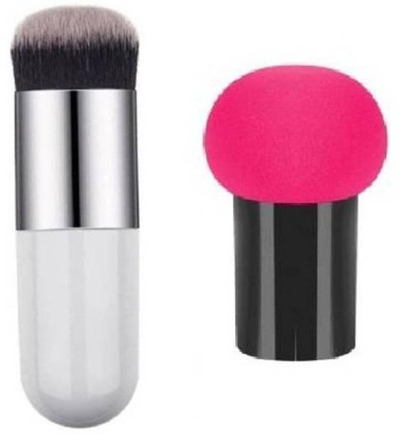 Lenon Beauty Foundation Blusher Brush Mushroom Blender
