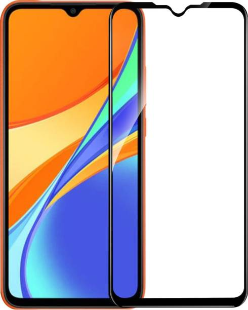 CHVTS Edge To Edge Tempered Glass for Realme 5, Realme 5i, REALME 5S, Realme C11, Realme C12, Realme C15, Realme C20, Realme C21, Realme C22, Realme C25, Realme C3, Realme Narzo 10, Realme Narzo 10A, Realme Narzo 20, Realme Narzo 20A, Realme Narzo 30A, Redmi 9, Redmi 9 Prime, Redmi 9A, Redmi 9i, Vivo Y20, Vivo Y20i, Vivo Y31 2021, VIVO Y51, Vivo Y51A, Gionee Max Pro, Moto E7 Power, Moto G10 Power, Moto G30, Moto G8 Power Lite, Moto G9, Oppo A31, OPPO A5 2020, Oppo A53s, OPPO A9 2020, Poco C3, Poco M2, Poco M3, Samsung A70, Samsung A70S, Samsung A90S, Samsung A12, Samsung M12, Samsung A02S, Samsung M02S, Samsung F02S