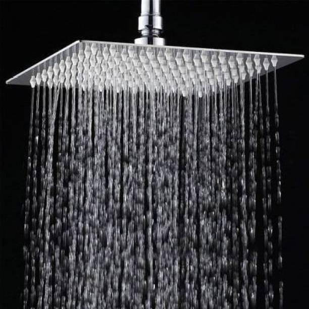"AMJ 6x6 (6"") Premium quality Stainless Steel UltraSlim Square Rain Shower Shower Head"