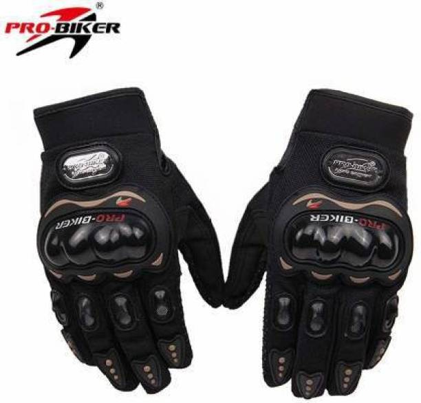 KLOUT pro riding touch Synthetic Lather Motorcycle Full Hand Gloves Riding Gloves