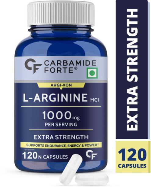 CF L Arginine 1000mg Capsules Per Serving