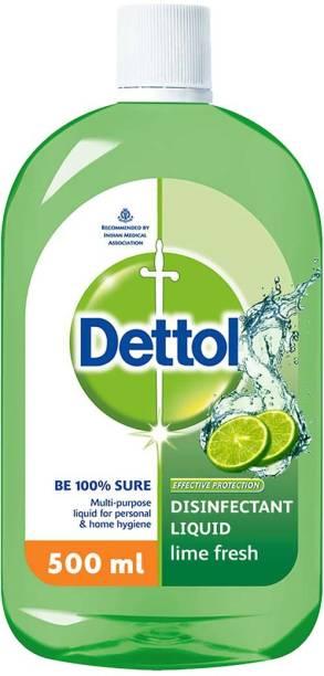 Dettol Disinfectant Lime Fresh Antiseptic Liquid
