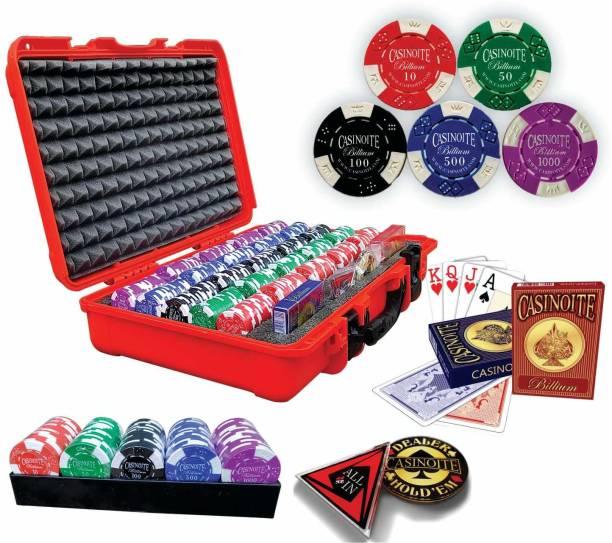 Casinoite BILLIUM 500 POKER SET