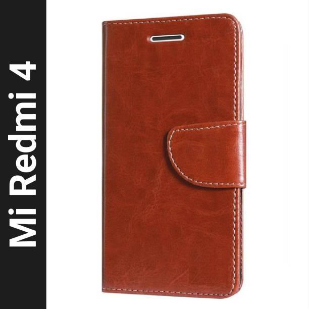 Fresca Flip Cover for Mi Redmi 4