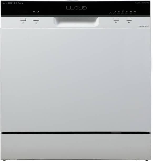 Lloyd GLDWC08AWD1DD Free Standing 8 Place Settings Dishwasher