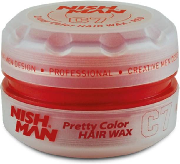 Nishman Temporary Color and Styling Wax- Red Hair Wax
