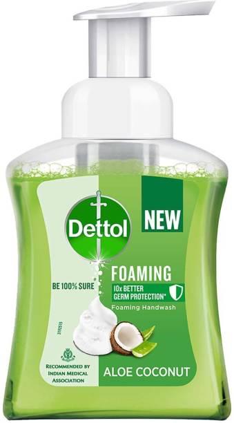 Dettol Aloe Coconut Foaming Hand Wash Pump Dispenser