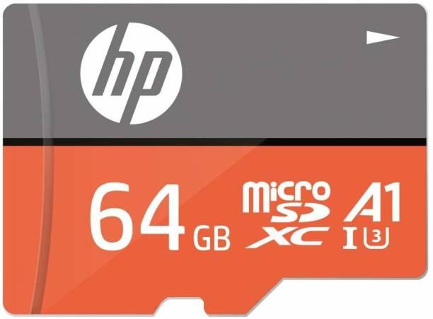 HP U3A1 64 GB MicroSD Card Class 10 100 MB/s  Memory Card