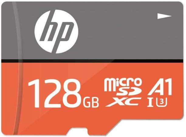 HP U3A1 128 GB MicroSD Card Class 10 100 MB/s  Memory Card