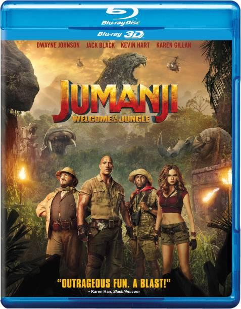 Jumanji: Welcome To The Jungle (Blu-ray 3D) (1-Disc)